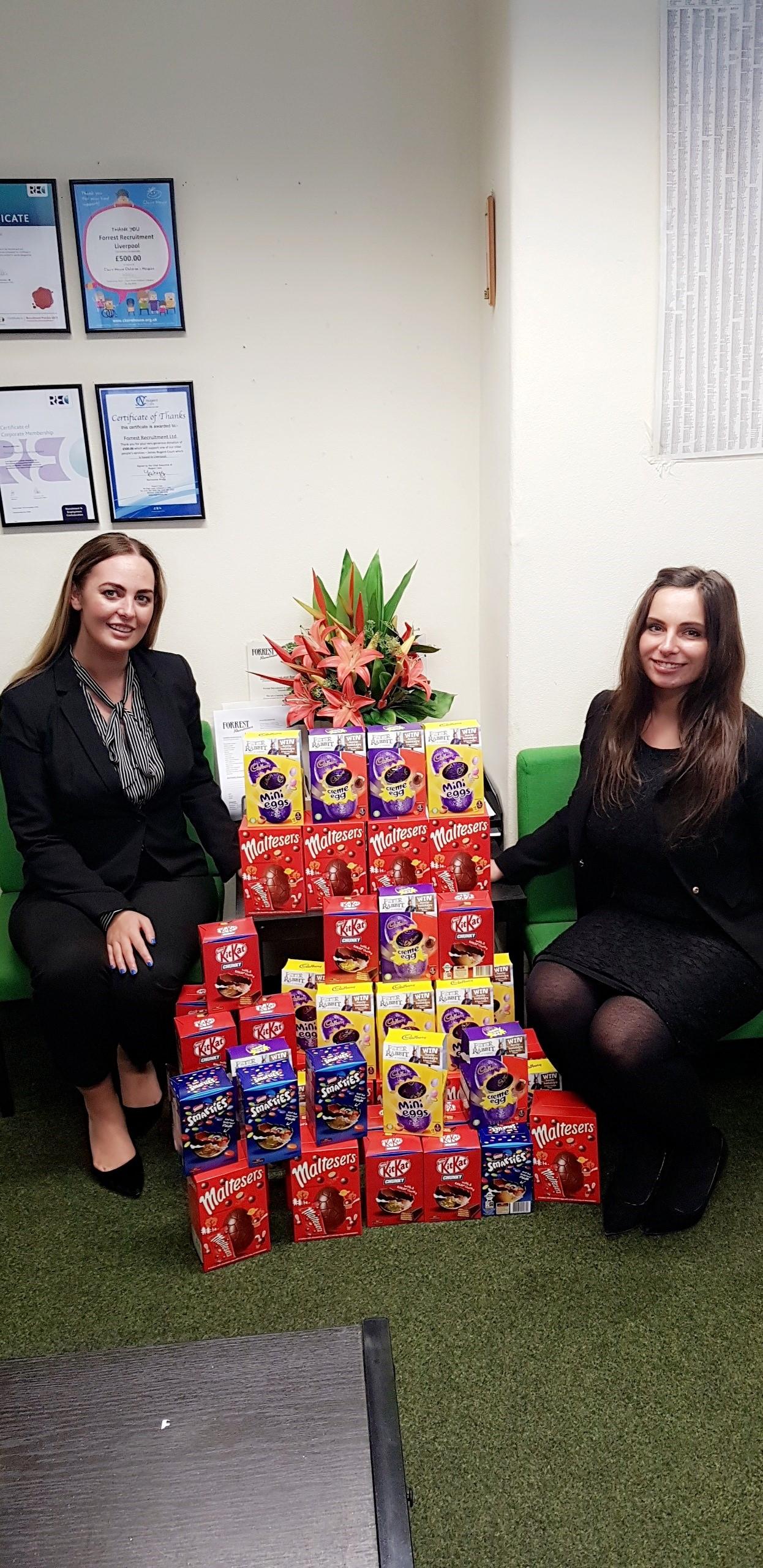 Easter Eggs Forrest Recruitment